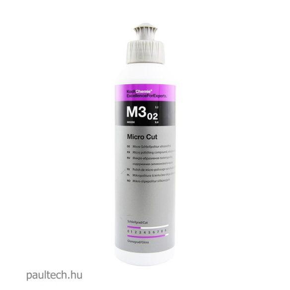 Koch Chemie Micro Cut 3.02 hologrammentesítő finispaszta 250ml